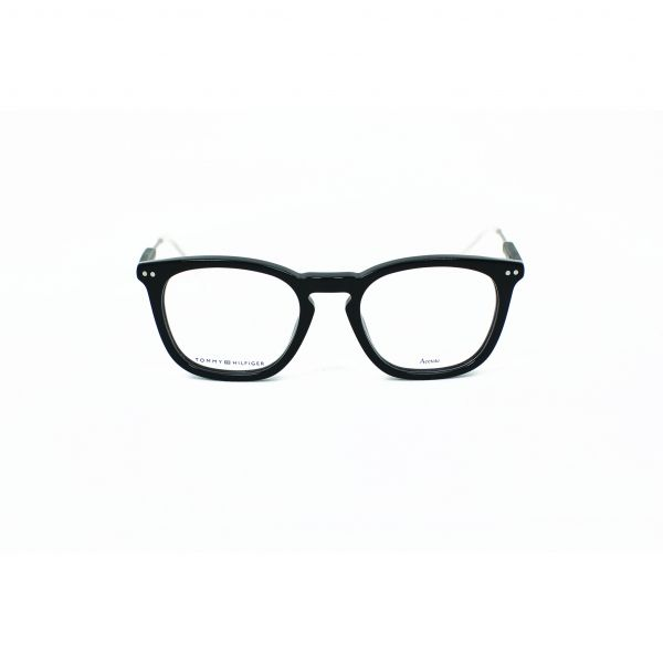 Tommy Hilfiger Black Square Glasses TH1365-JVI