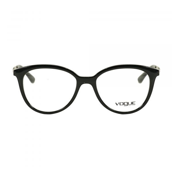 Vogue Black Cat Eye Glasses VO5151-W44-51