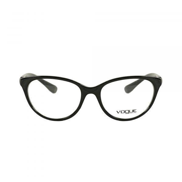 Vogue Black Cat Eye Glasses VO5153-W44-51