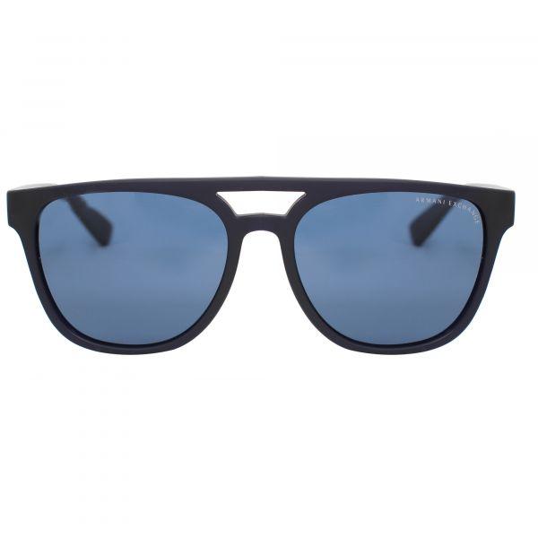Armani Exchange Blue Square AX4032-814172-55