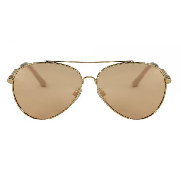 Burberry Gold Aviator Sunglasses BE3092Q-12437J-57