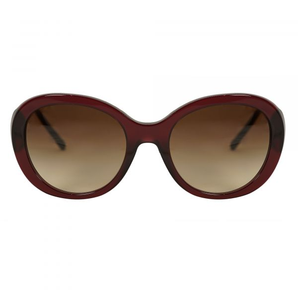 Burberry Red Round Sunglasses BE4191-301413-57