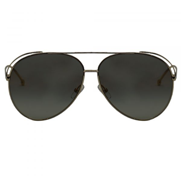 Fendi Gold Aviator FF0286S-J5GFQ-63