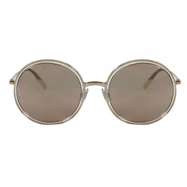 Giorgio Armani Bronze Round Sunglasses AR6052-30114Z-52