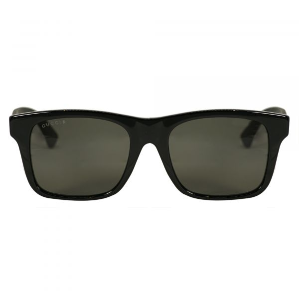 026975fb3a Gucci Black Rectangle Sunglasses G0008S-002-53