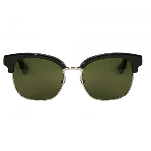 Gucci Black Round Sunglasses G0056S-002-54