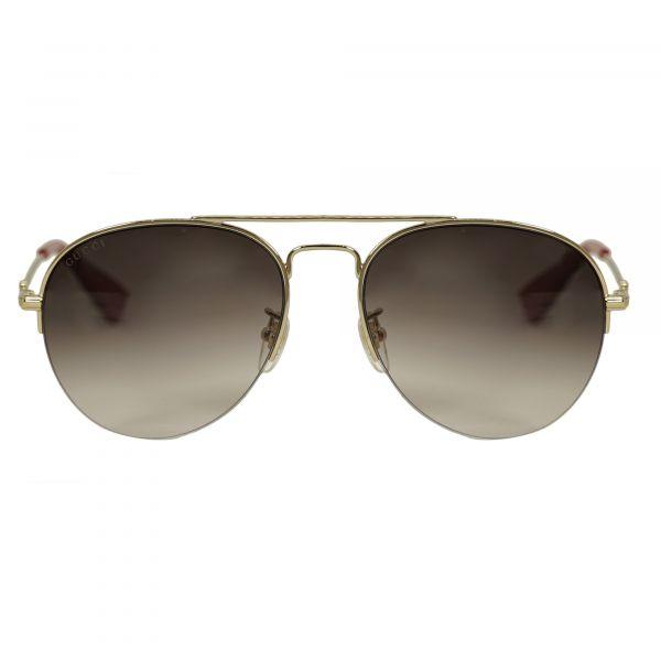 84ae997cc نظارة قوتشي ذهبي افياتور الشمسية | نظارات شمسية | ايوا الامارات