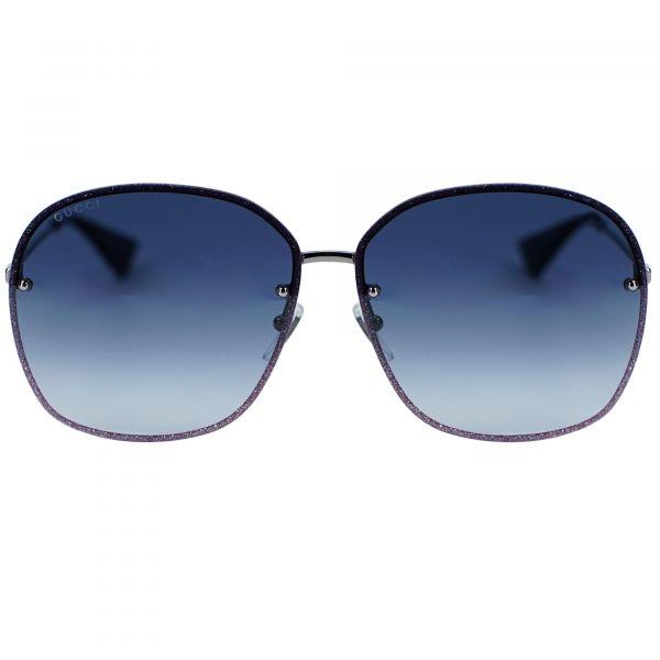 Gucci Gray Square GG0228S-004-63