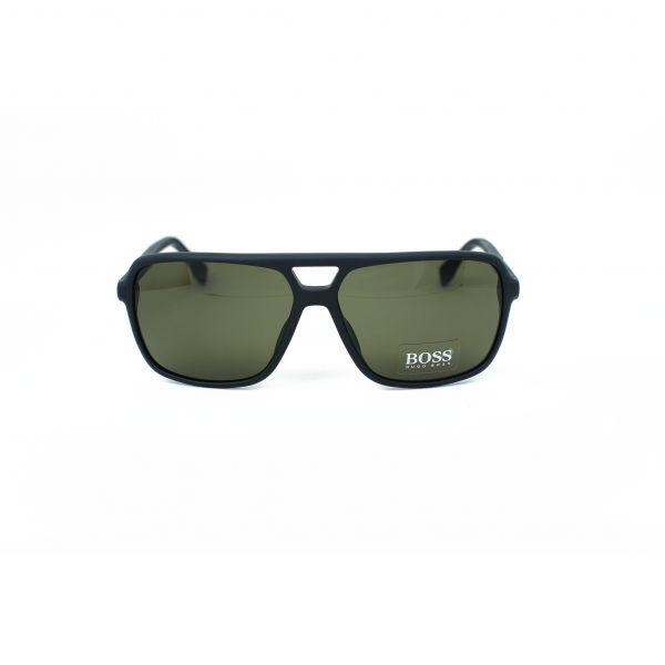Boss Matte Black Aviator Sunglasses 0772S-HXENR-60