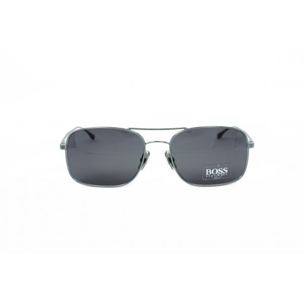 Boss Silver Aviator Sunglasses 0781S-AGLY1-58
