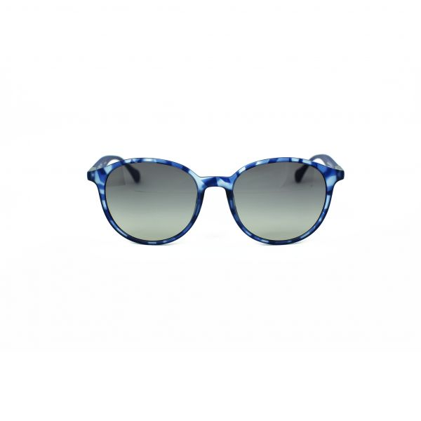 Boss Blue Round Sunglasses 0822S-YX2DX-53