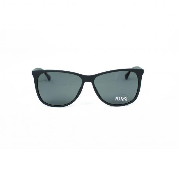 Boss Matte Black Square Sunglasses 0823S-YV46E-58