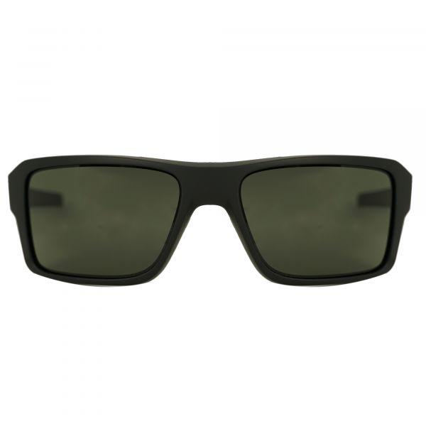 Oakley Matte Black Rectangle Sunglasses OO9380-938001-66