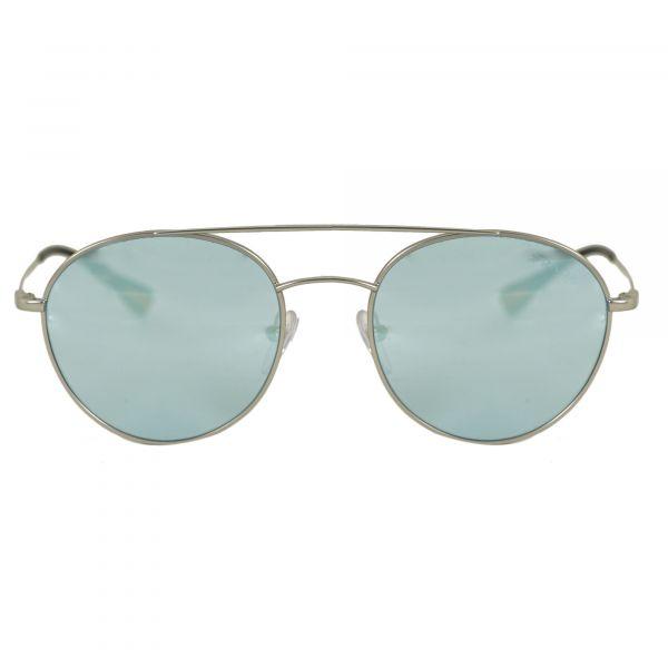 Prada Linea Rossa Silver Round Sunglasses PS51SS-1AP5Q0-51