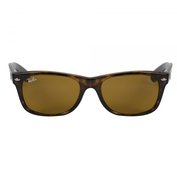 Ray-Ban Tortoise Square Sunglasses RB2132-710-52