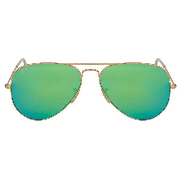 Ray-Ban Gold Aviator Sunglasses RB3025-112P9-58