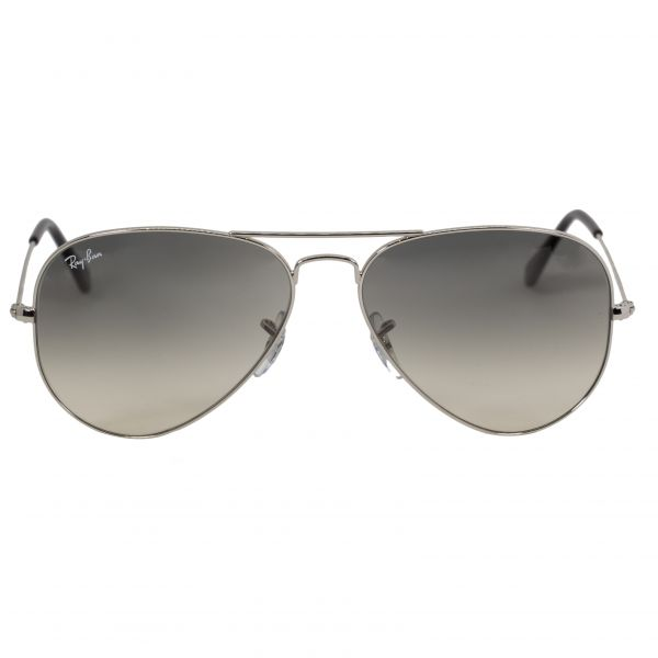 Ray-Ban Silver Aviator Sunglasses RB3025-332-58