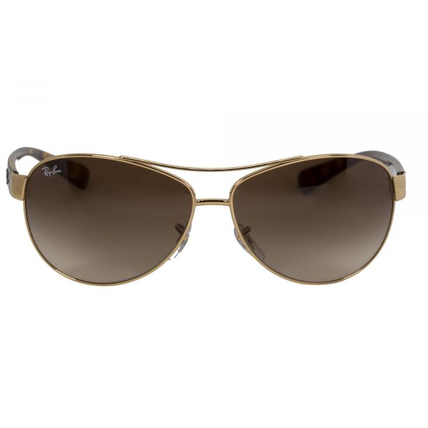 Ray-Ban Gold Aviator Sunglasses RB3386-113-63