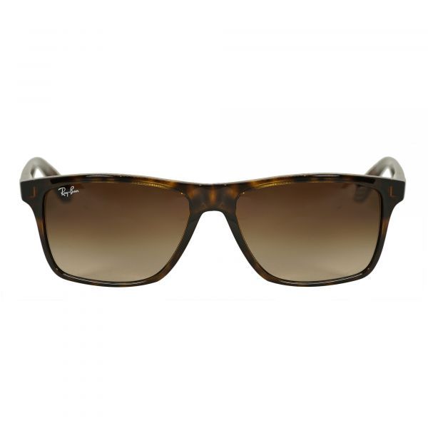 Ray-Ban Tortoise Rectangle Sunglasses RB4234-620513-58
