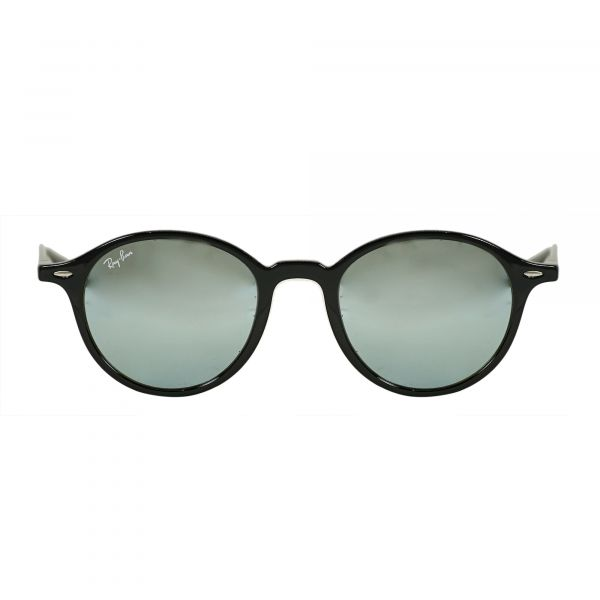Ray-Ban Black Round Sunglasses RB4237-60130-50