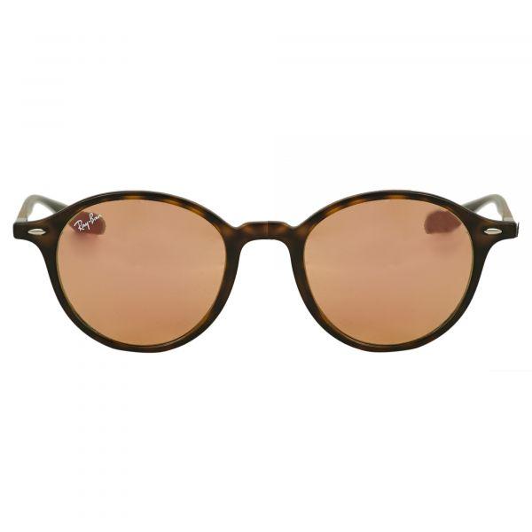 Ray-Ban Tortoise Round Sunglasses RB4237-894Z2-50