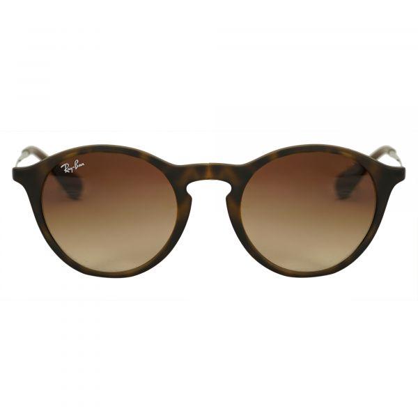 Ray-Ban Tortoise Round Sunglasses RB4243-86513-49