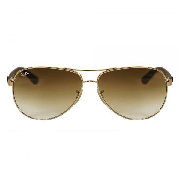 Ray-Ban Gold Aviator Sunglasses RB8313-151-61