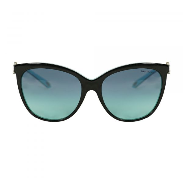 Tiffany Black Cat Eye Sunglasses TF4131H-80559S-56
