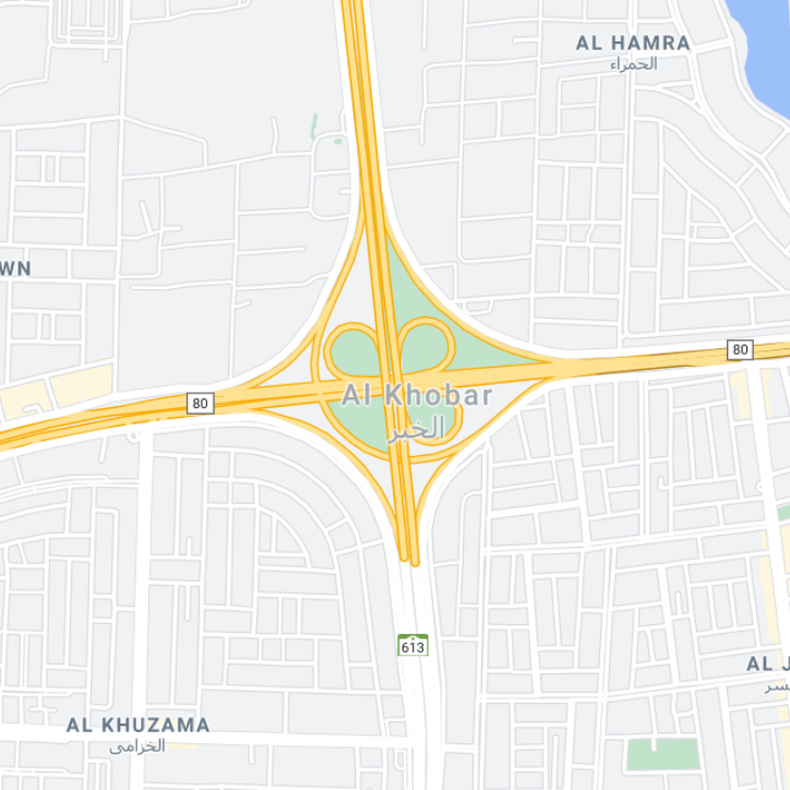 Alkhobar map
